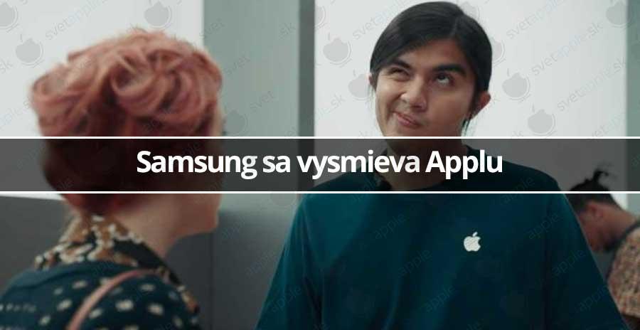 Samsung sa vysmieva Applu - svetapple.sk