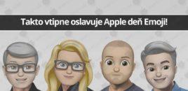 Takto vtipne oslavuje Apple deň Emoji!