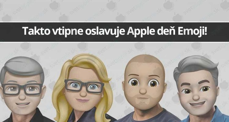 Takto vtipne oslavuje Apple deň Emoji! - svetapple.sk