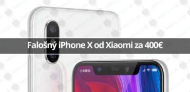 Xiaomi okopírovalo iPhone X - svetapple.sk