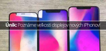 Únik: Poznáme veľkosti displejov nových iPhonov!
