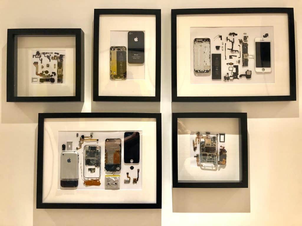 Umelecké dielo zo starého iPhonu? - svetapple.sk