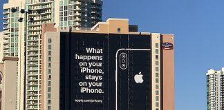 Apple s fantastickou reklamou v Las Vegas vyzdvihuje bezpečnosť. - svetapple.sk