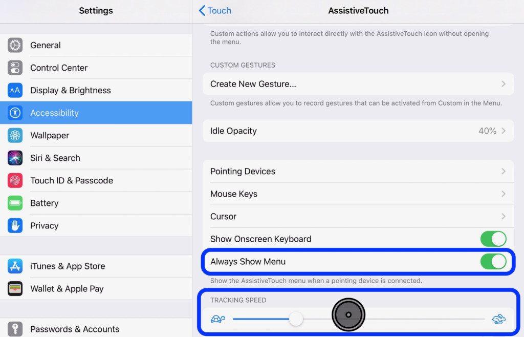 Ako nastaviť myš na iPade v iPadOS 13? Návod - svetapple.sk