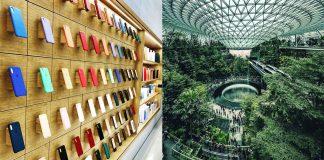 Apple Store na letisku v Singapure bude otvorený 13. júla. - svetapple.sk