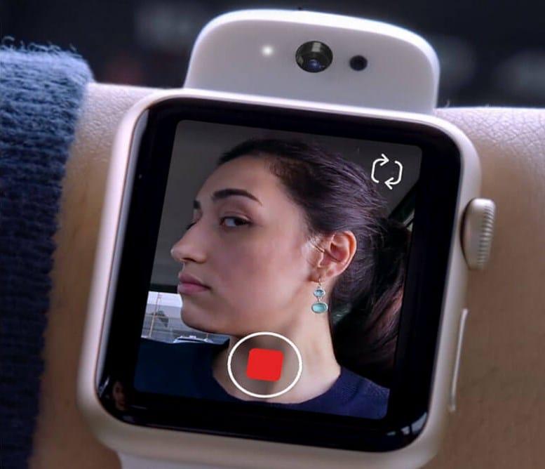 Apple Watch s fotoaparátom? Apple to včera naznačilo. - svetapple.sk