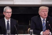 Apple žiada Donalda Trumpa aby ukončil obchodnú vojnu s Čínou. - svetapple.sk