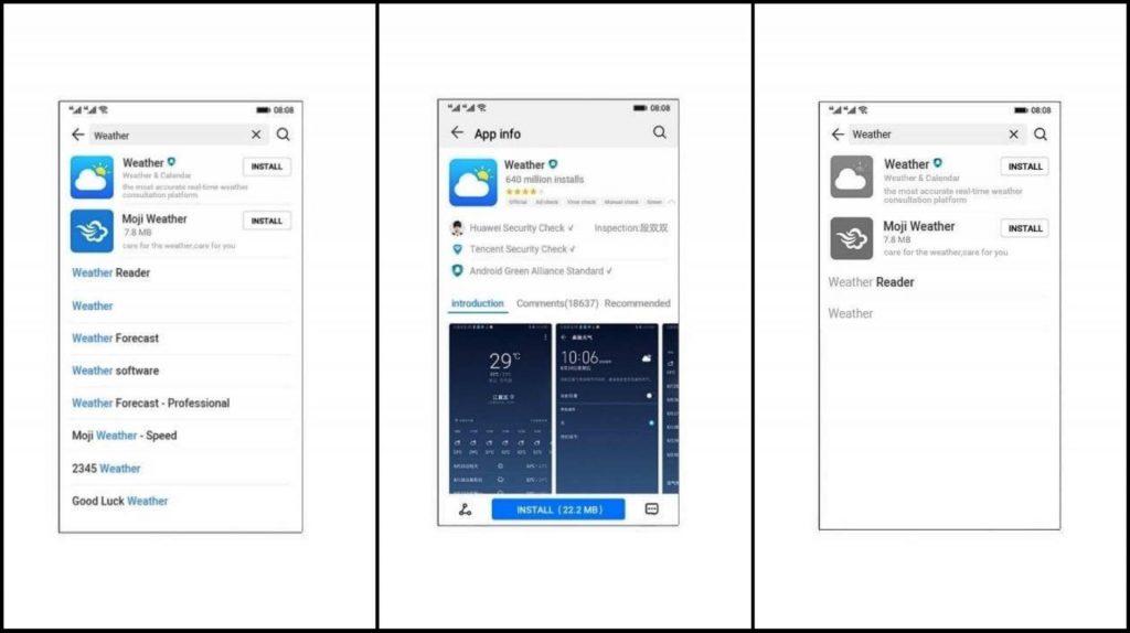 Operačný systém Huawei - unikli prvé screenshoty
