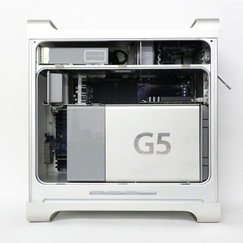 Power Mac G5, predchodca Macu Pro z roku 2003 s nadčasovým dizajnom. - svetapple.sk