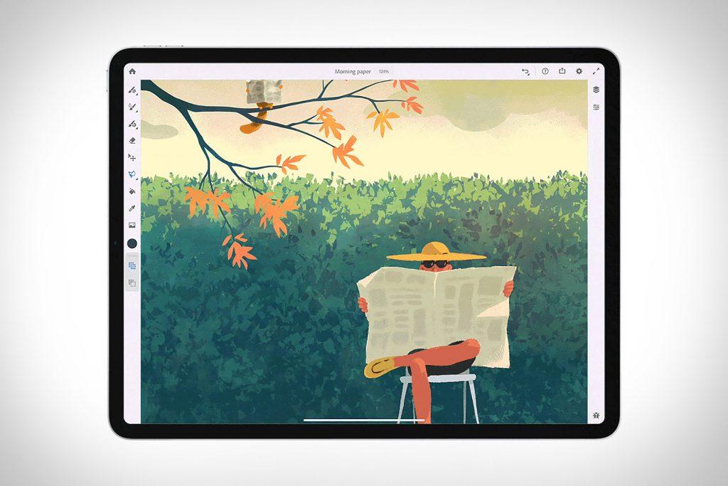 Adobe Fresco - Nová aplikácia pre kreatívnych ľudí.