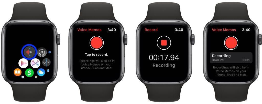 Hlasové poznámky na Apple Watch. Návod ako na to. - svetapple.sk