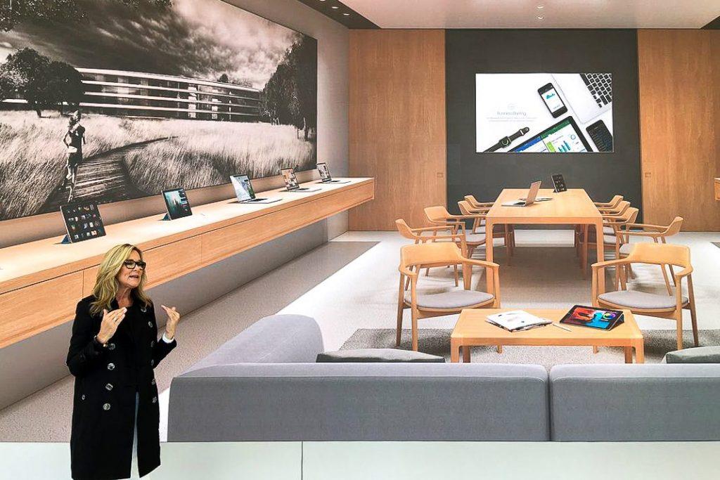 Zasadacia miestnosť v Apple Store? Luxusnejšia ako kdekoľvek inde. - svetapple.sk