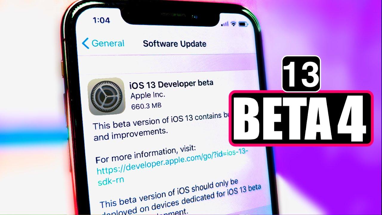iOS 13 beta 4. pre vývojárov je tu. Pozrite si, čo je nové. - svetapple.sk