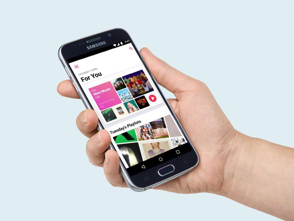Android verzia Apple Music dostáva novinky z iOS 13. - svetapple.sk