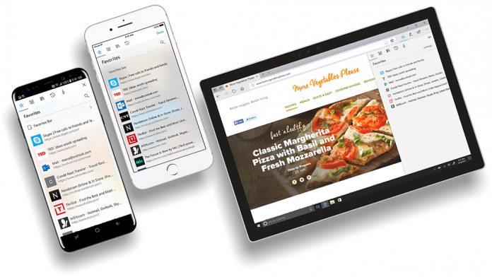 Microsoft Edge pre iPhone vám prečíta text na webstránke.