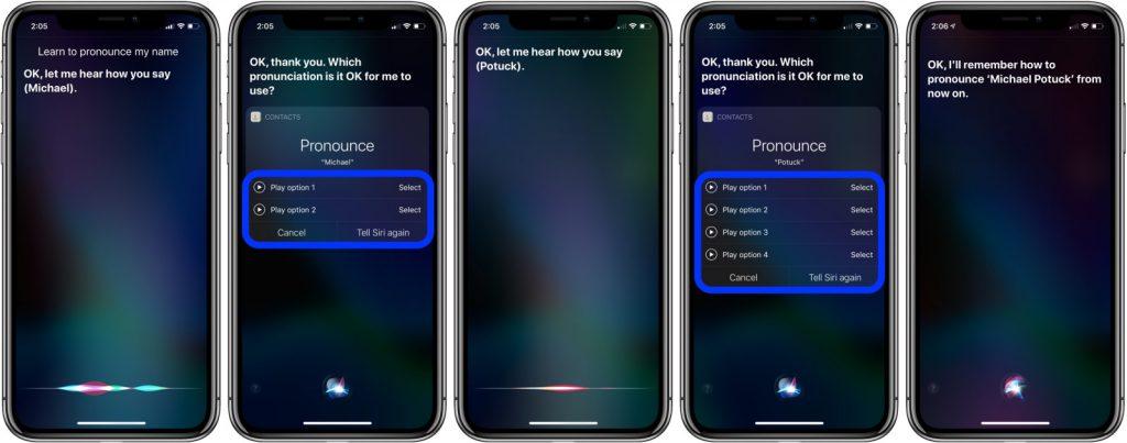 Návod: Naučte Siri aby správne vyslovovala vaše meno a tiež mená z kontaktov.