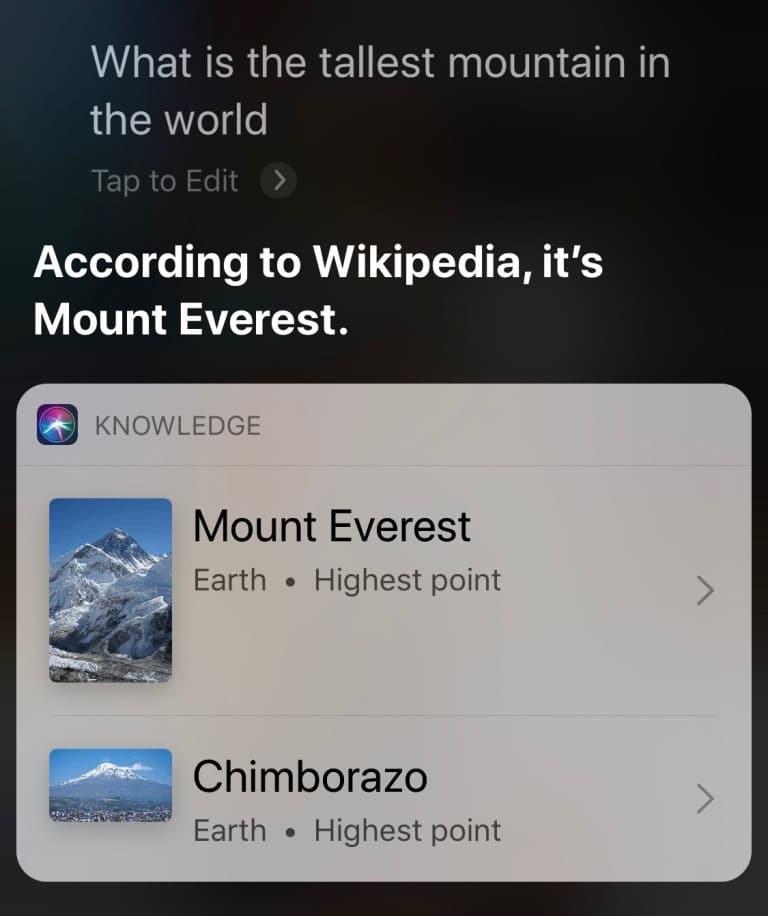 Siri bude inteligentnejšie odpovedať na otázky, s vyhľadávaním cez Safari. - svetpaple.sk
