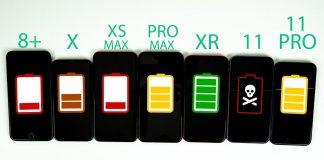 Porovnanie výdrže batérie vrámci niekoľkých generácii iPhonov. Výsledky prekvapia. - svetapple.sk