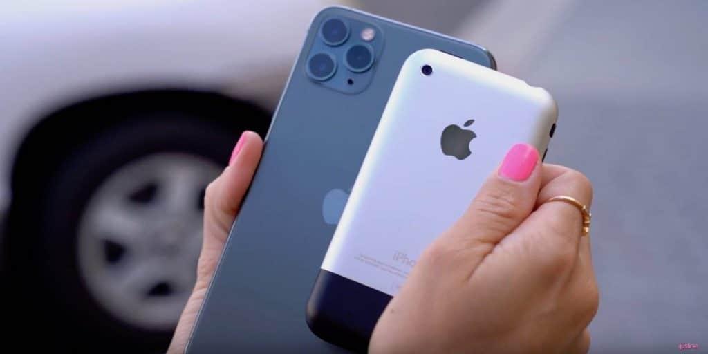 iPhone 11 Pro vs. originálny iPhone z roku 2007 v teste fotoaparátov. Pozrite sa kam sa to posunulo... - svetapple.sk