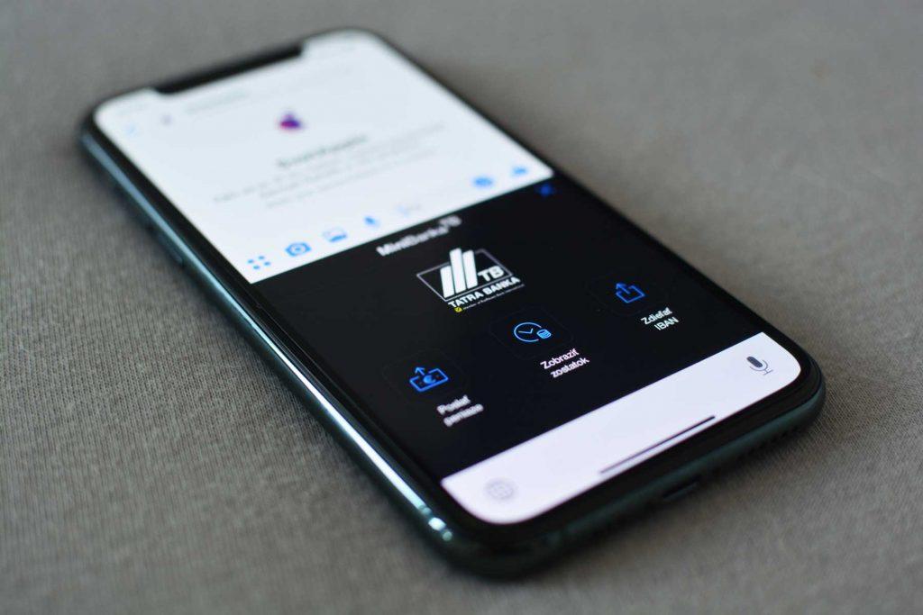 Tatra Banka umožňuje testovať prvú mobilnú bankovú klávesnicu. Vyskúšajte ju aj vy!
