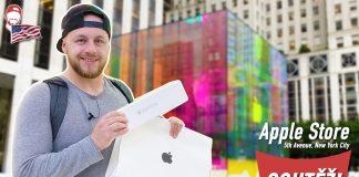 Nákup v Apple Store na 5th Avenue v New Yorku po česky. Je to úplne iné ako u nás. Pozrite sa na rozdiely. - svetapple.sk