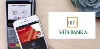 VÚB banka Apple Pay