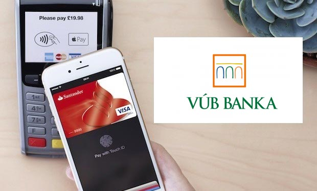 VÚB banka Apple Pay