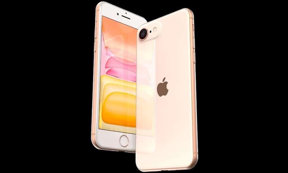 Vizualizácia ukazuje, ako by mohol vyzerať iPhone SE 2, keď Apple dodrží dizajnový jazyk z modelu 11. - svetapple.sk