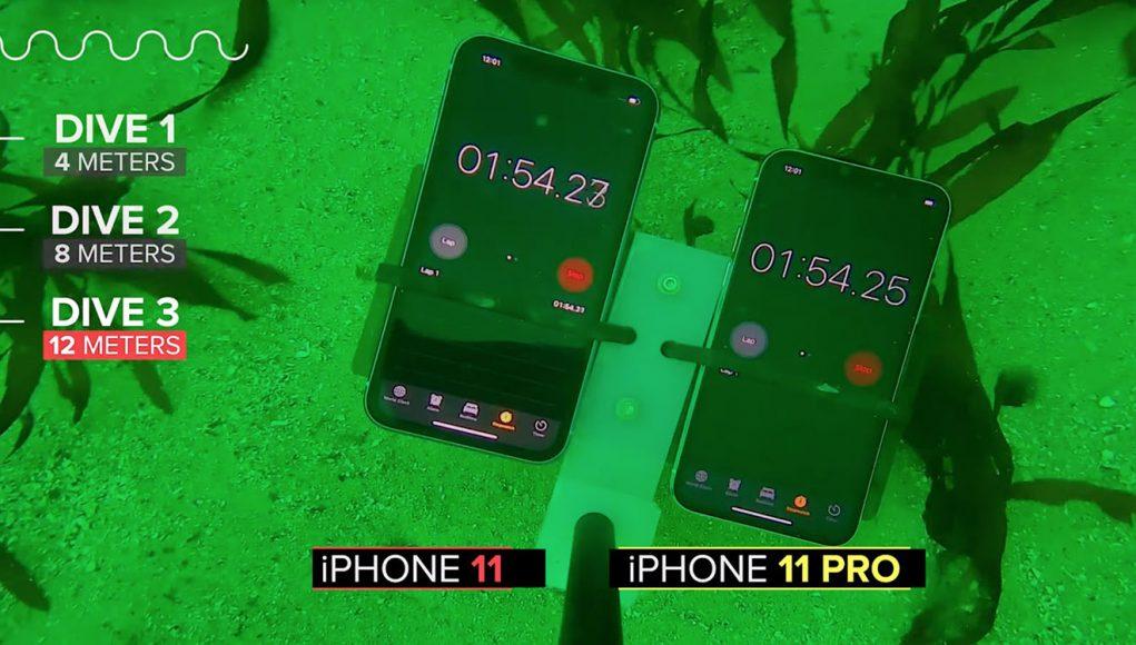 Vydrží iPhone 11:11 Pro v 12 metrovej hĺbke pod vodou. Aké sú skutočne odolné? - svetapple.sk