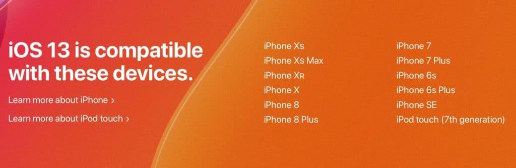 2. Skontrolujte si, či vaše zariadenie vôbec môže dostať novú aktualizáciu - svetapple.sk