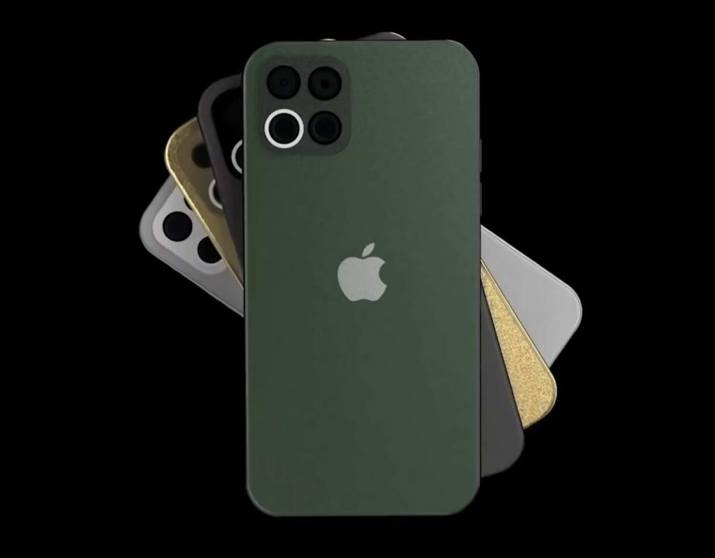 iPhone 12 Pro koncept