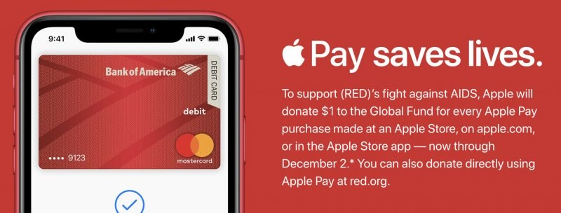 apple pay red