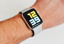 Apple Watch Series 3 zobrazenie času