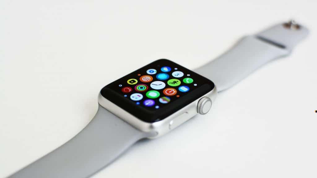 Apple Watch Series 3 hlavná ponuka