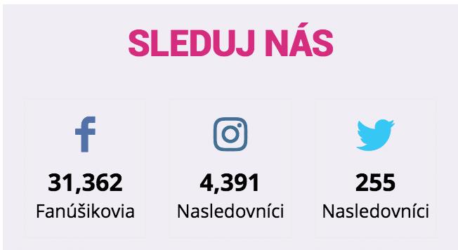 instagram na webovej stránke