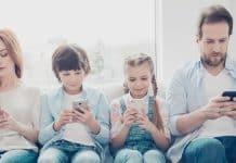 Závislosť na mobilných zariadeniach
