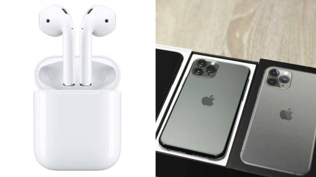 airpods súčasť balenia iPhonu