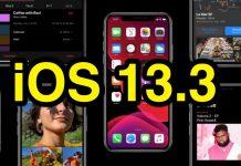 Apple včera vydalo iOS 13.3, iPadOS 13.3, tvOS 13.3 a WatchOS 6.1.1 v prvej beta verzii.