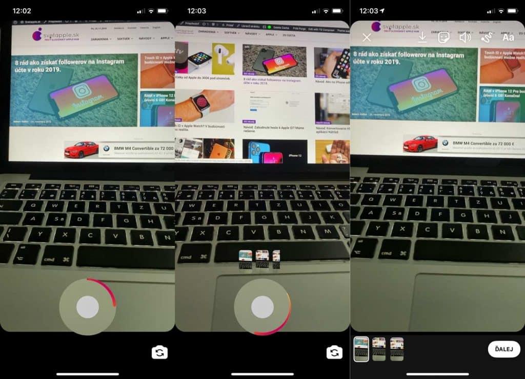 Ako pridať na Instagram Stories videá dlhšie ako 15 sekúnd