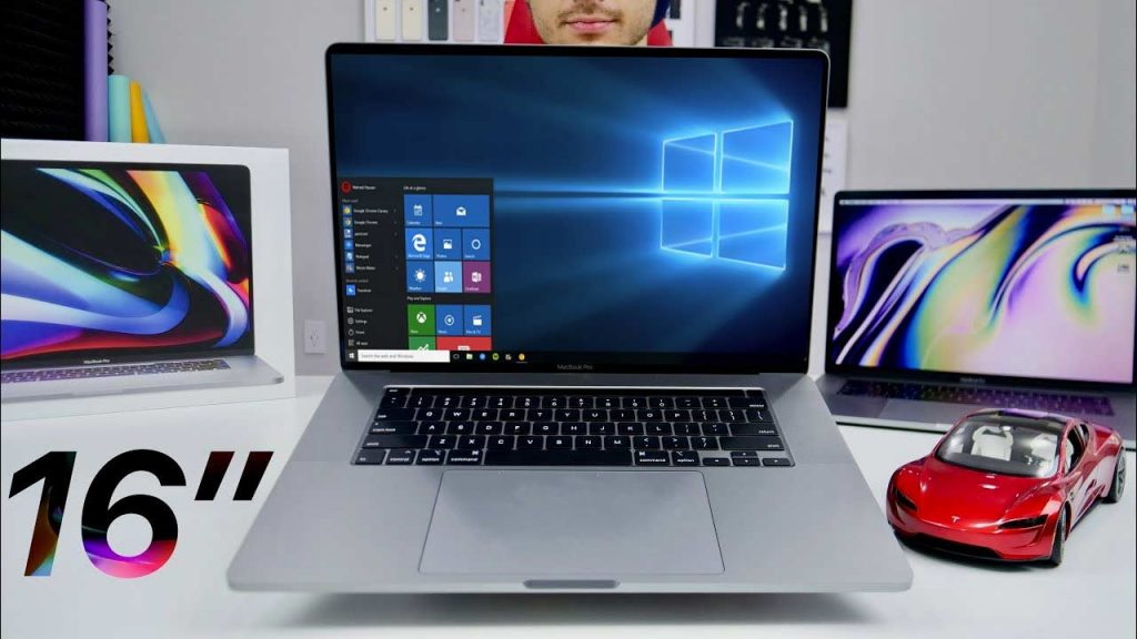 "MacBook Pro 16"" windows Bootcamp"