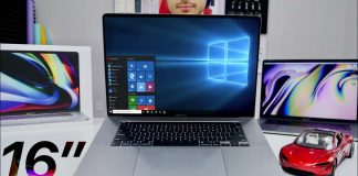 "MacBook Pro 16"" windows Bootcamp"