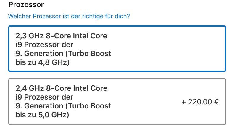 """Nový MacBook Pro 16"""" bude stať na Slovensku v TOP konfigurácii vyše 7000€!"""