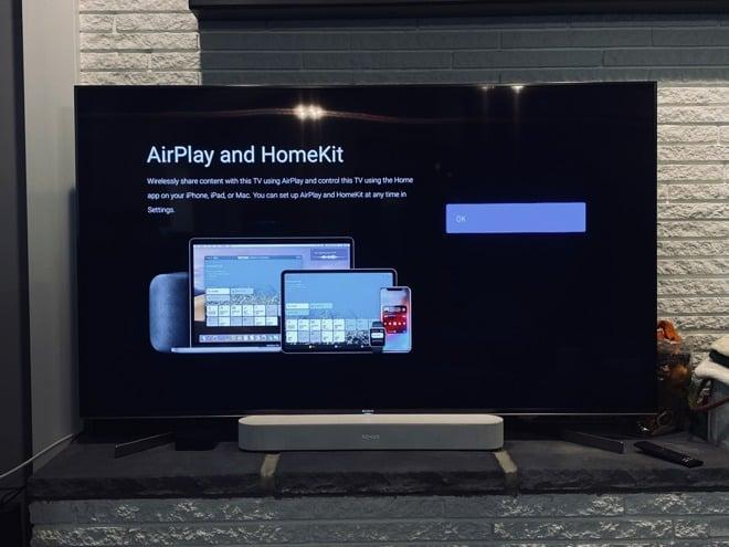 Sony televízory AirPlay 2