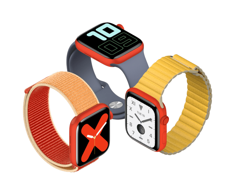 Apple by mohlo predstaviť Apple Watch Series 5 (PRODUCT) RED.