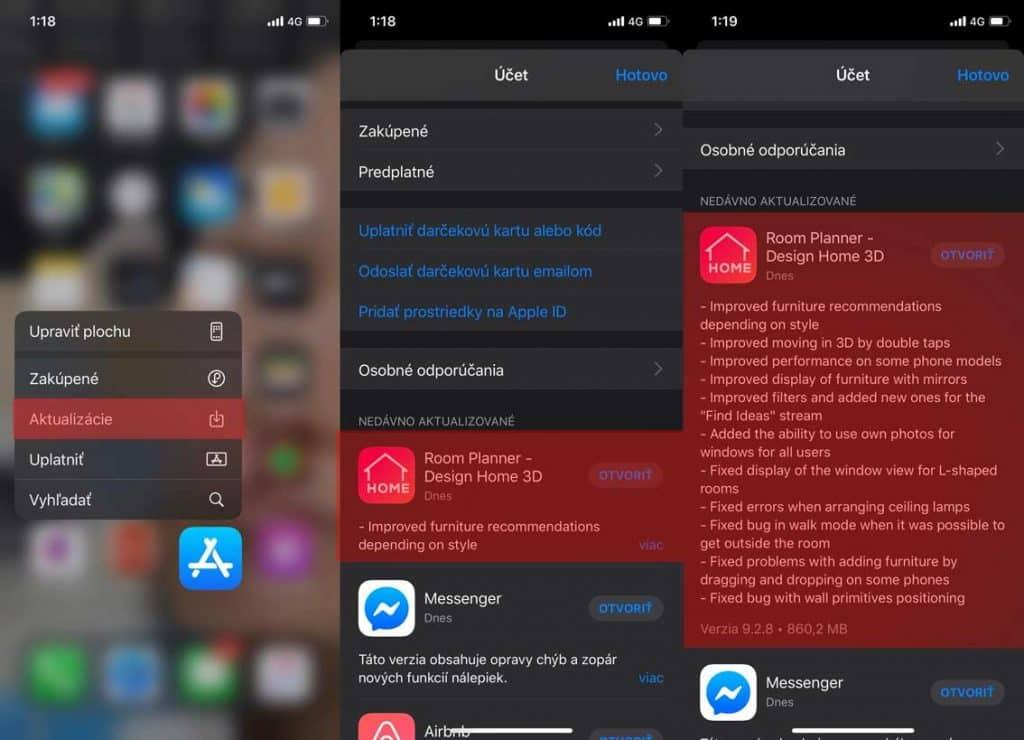 Návod: Ako sa v iOS 13 dostať ku aktualizáciám cez App Store?