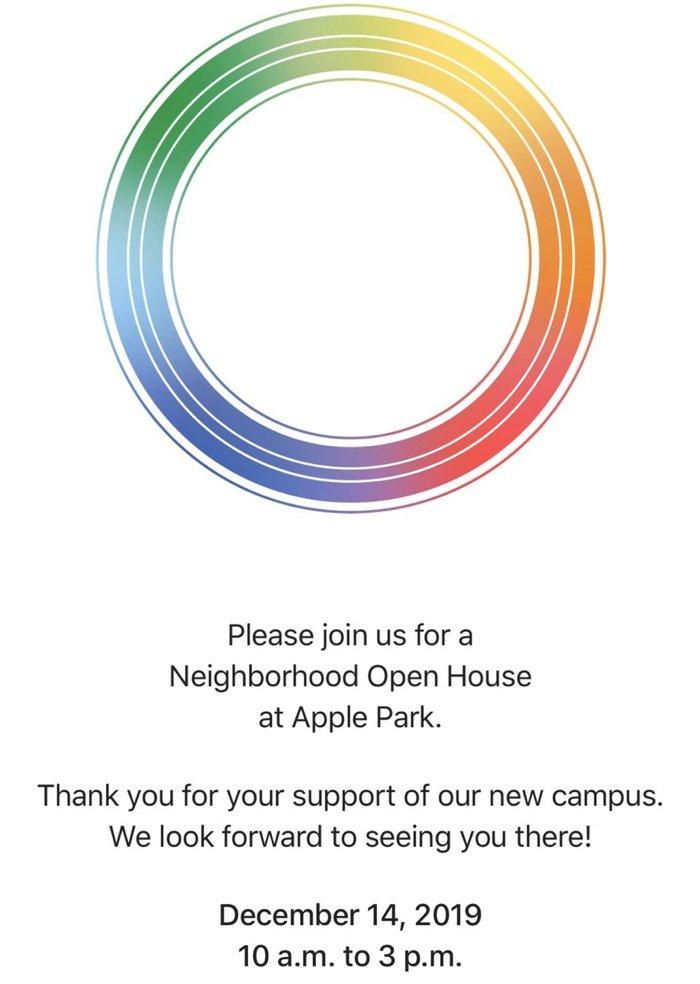 deň otvorených dverí v Apple