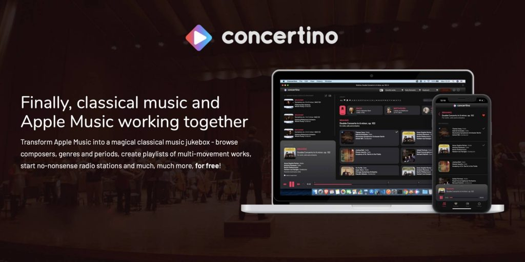 apple music concertino