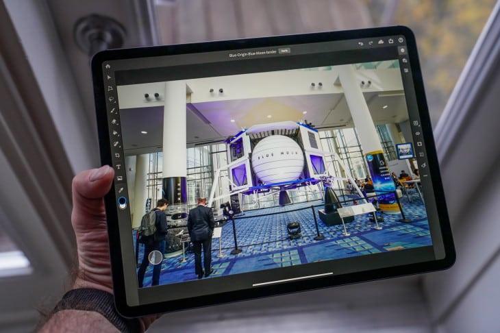 Photoshop pre iPad dostal aktualizáciu. Čo priniesla?