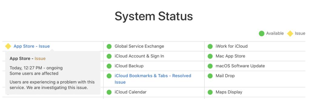 App Store hlási problémy. Nezaznamenali ste ich aj vy?