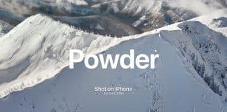 """Pozrite sa na nové video """"Shot on iPhone"""" - Powder"""